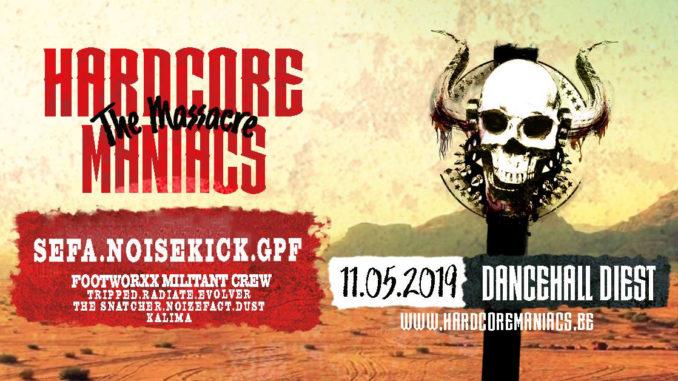 SEFA, GPF & Noisekick tomorrow at Hardcore Maniacs – Final